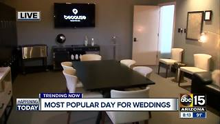 August 8: Popular day for weddings! - Video