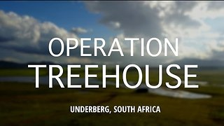 Lifelong Friends Fulfill Childhood Dreams, Build Tree House in South African Wildnerness - Video