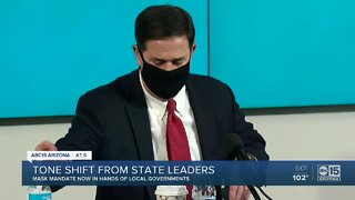 Tone shift from state leaders on COVID-19