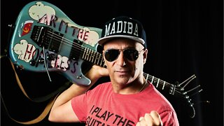 Tom Morello Of Rage Against the Machine Gifts A Fender Stratocaster To A 10 Year Old Rocker