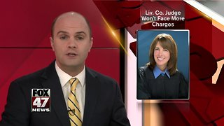 Livingston County Judge Won't Face Additional Charges