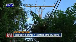Police urge people to light up their neighborhoods following murders in Southeast Seminole Heights - Video
