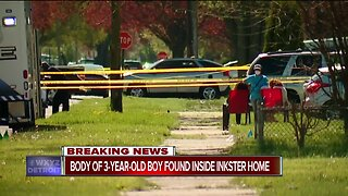 Body of 3-year-old boy found inside Inkster home