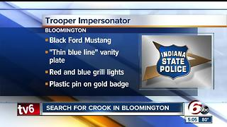 ISP looking for man who's impersonating a police officer in Monroe County - Video