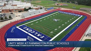 Unity week at Farmington Public Schools