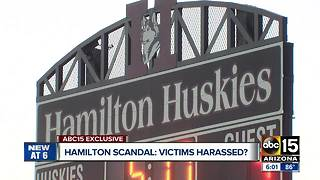 Victims claim they're still being harassed in Hamilton hazing case - Video