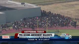 Pro-Second Amendment Walkouts across the nation - Video