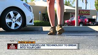 Crooks could be using technology to break into locked cars - Video