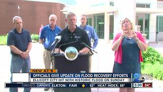 Ellicott City officials give update on restoration work after historic flood