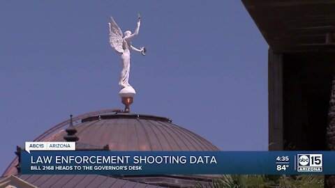 One of the only surviving police reform bills headed to Governor Ducey's desk