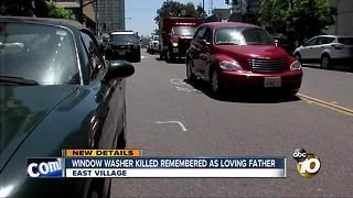 window washer killed remembered as loving father - Video