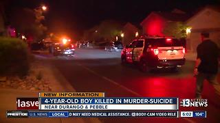 Neighbor rushed 4-year-old boy killed in murder-suicide