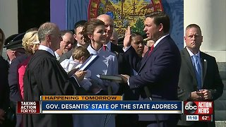 Gov. DeSantis to lay out agenda during Florida State of the State