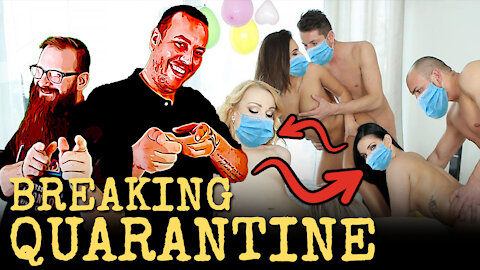 Breaking Quarantine: 81 Person Orgy Sends the Show Completely Out of Control! 🤣