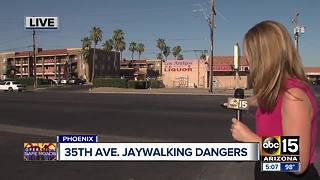 Hit-and-run crash in Phoenix also exposes dangerous issue of jaywalking - Video