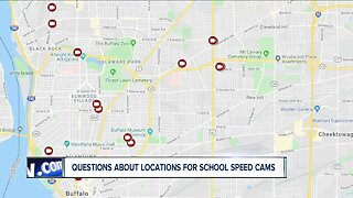 Questions surrounding placement of school zone speed cameras