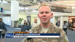 Airman Returns Home After Six-Month Deployment - Video