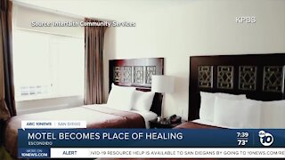 Escondido motel to serve as place of healing for homeless