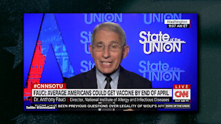 Dr. Fauci and CNN's Jake Tapper Say Christmas Is In Jeopardy Because of Pandemic