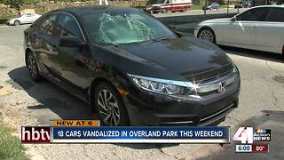 Vandals break into 18 vehicles at OP theater - Video