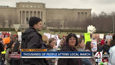 Thousand attend March for our lives rally in Kansas City