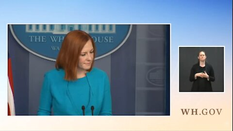 COWARDLY:Psaki Dodges Questions About Biden's View of Court Packing Bill