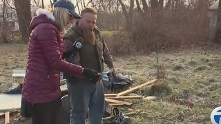 Taking on illegal dumping in Detroit - Video