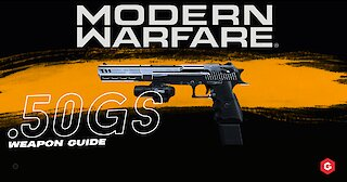 Modern Warfare: .50GS Setup and Best Attachments For Your Class In Call of Duty