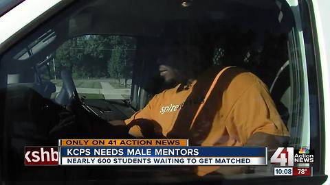 KCPS looking for African American, Hispanic male mentors for 600 students