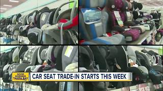 Five safety factors you need to know before trading in your child's car seat at Target - Video