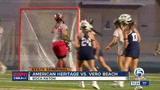American Heritage tops Vero Beach - Video