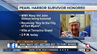 Southwest Florida honoring Pearl Harbor survivor - Video