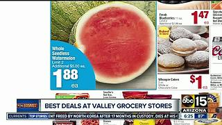 Keep cool this week with these Valley supermarket deals - Video
