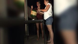 Watermelon Challenge Has Surprise Twist Ending - Video