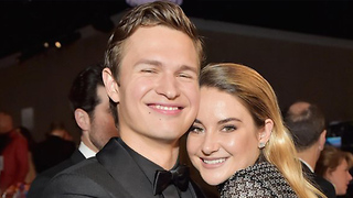 The Stars Aligned For Ansel Elgort and Shailene Woodley Tonight | 2018 Golden Globes