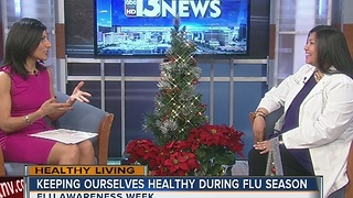 Keeping ourselves healthy during flu season - Video