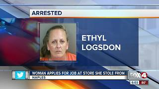 Woman Applies for Job at Store She Stole From - Video