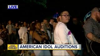American Idol kicks off open auditions at Walt Disney World Resort - Video