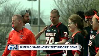 Buffalo State hosts Best Buddies flag football game - Video
