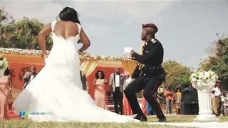 Newlyweds Show Off Funky Dance Moves - Video