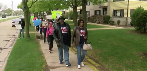'Stop The Violence' Walk