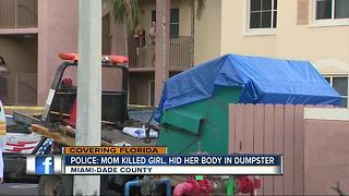 Police: Young girl's body found in Florida dumpster; no ID - Video