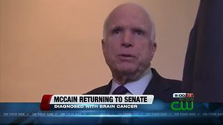 Senator John McCain to return to United States Senate
