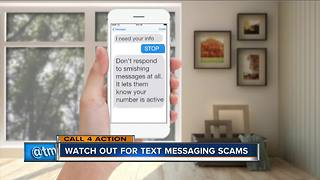 Beware smishing scams - Video