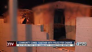 Neighbors brainstorm with North Las Vegas Police - Video