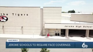 Jerome School District to require face coverings for upcoming school year