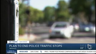 Berkeley to vote on plan to end police traffic stops