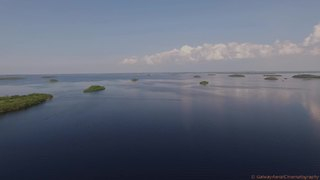 Irish lake home to hundreds of islands - Video