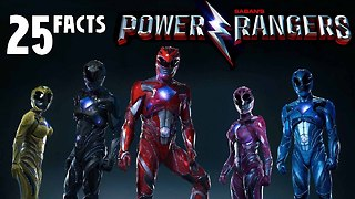 25 Facts About Power Rangers - Video
