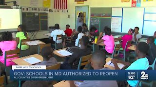 Gov. Hogan: Every Maryland county school system can safely reopen